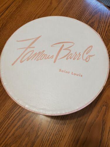 Famous Barr Vintage Hat Box