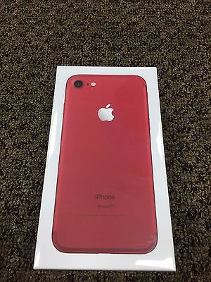 Apple iPhone 7 128GB (PRODUCT) RED-Special Edition  BRAND NEW - UNLOCKED