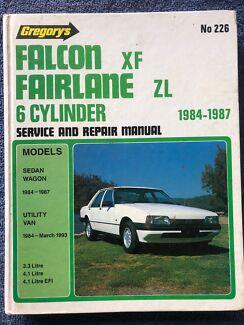 Gregorys Ford Falcon XF Fairlane ZL 6******1987 Service ,repair manual Wauchope Port Macquarie City Preview