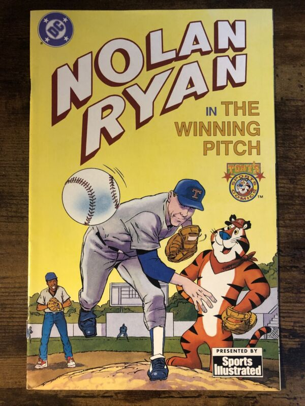 Nolan Ryan- In The Winning Pitch- Tony's Sports Comics- DC Comic Book