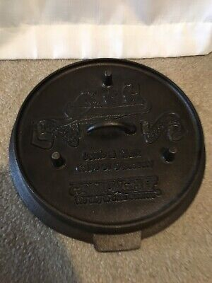 Lewis And Clark Camp Chef Cast Iron LID-LID ONLY