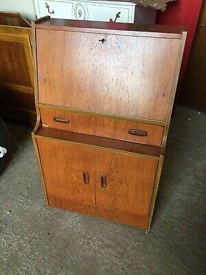 Vintage Writing Bureau Bureaux Home Office  Lock Needs Attention  23/12/T