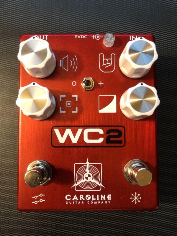 Caroline Guitar Company WC2 Distortion Fuzz Pedal