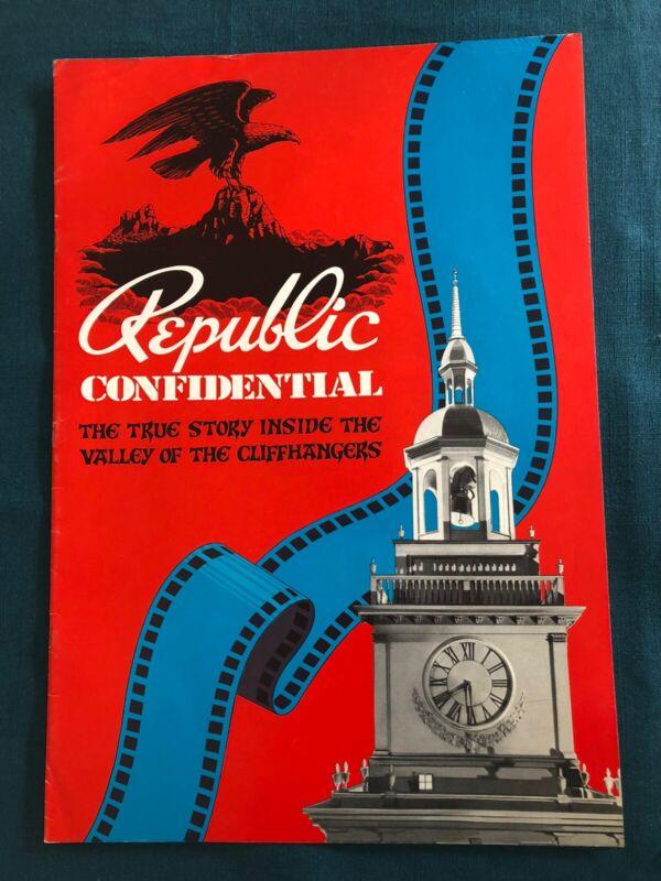 Republic Confidential Pressbook Autographed by Kay Aldridge, Jack Mathis Pub