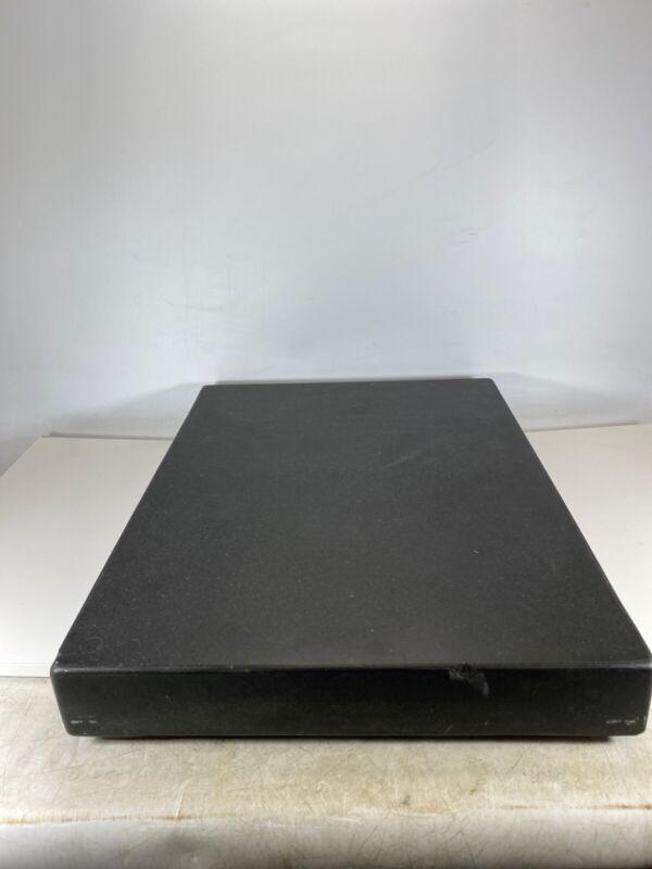 "Brown & Sharpe Black Granite Surface Plate 24x18x3"" Machinist Layout Part Making"