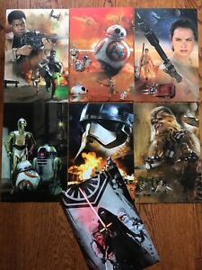 Star Wars The Force Awakens Limited Edition Lithograph prints