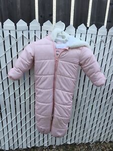 Girl one piece snow suit (Size 18mo-24mo)