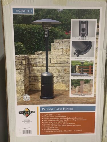 Mosaic Propane Patio Heater 40,000 BTU 🔥🔥FREE PRIORITY