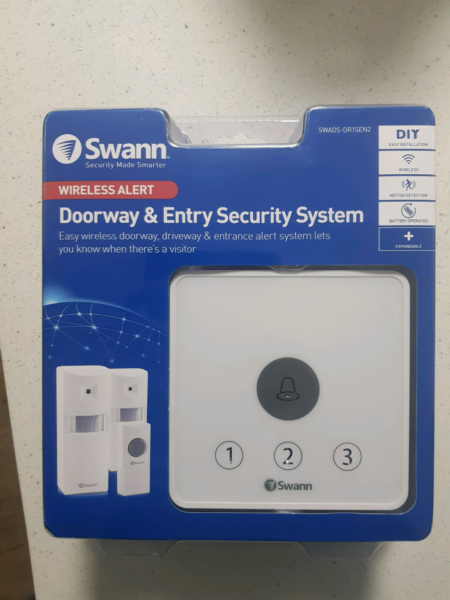 Swann doorway entry security system other tools diy gumtree 1 of 4 solutioingenieria Images
