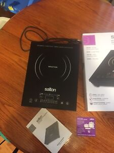 Salton portable induction cooktops