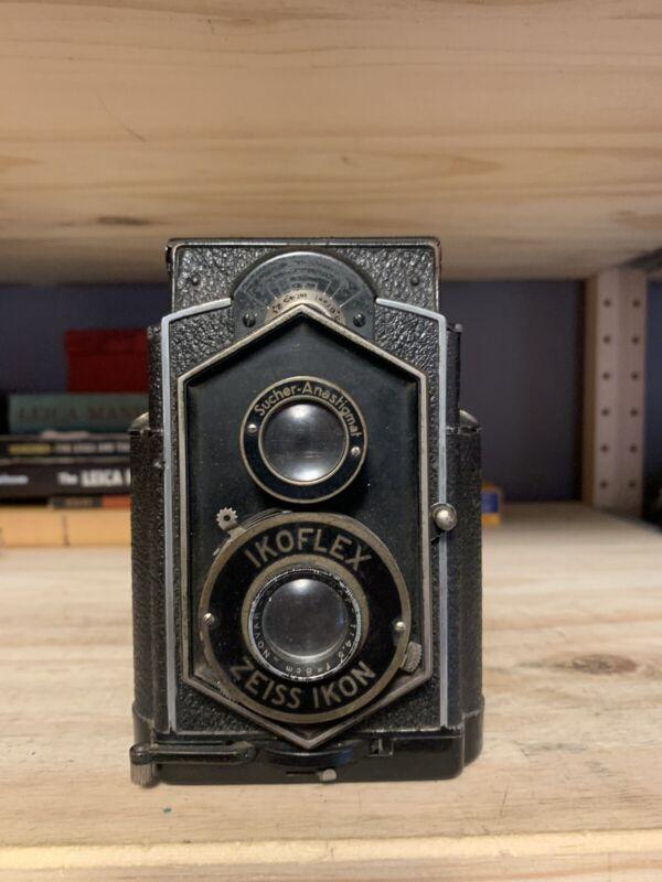 "Zeiss Ikon 850/16 IKOFLEX ""coffee can"" TLR Camera Novar 8cm F4.5"