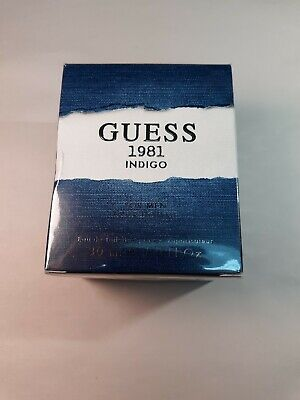 Guess 1981 Indigo by Guess Cologne For Men 1oz, 30ml New in Box ***Fathers day