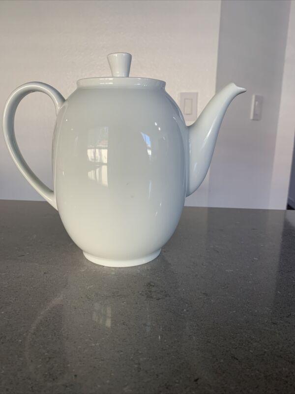Arzberg Germany Coffee Pot White Ceramic