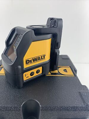 New Dewalt Dw088 Red Cross Line Laser Self Leveling 165 Horizontal Vertical