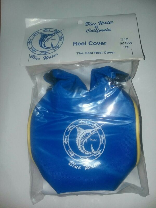 Fishing Reel Cover by BlueWater. Set of two. Size 12W. Free shipping.
