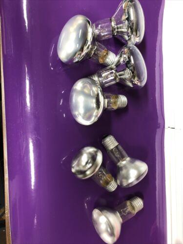 Glühbirnen E27 Reflektorlampen Konvolut , 5x60w , 2x40watt Für Lavalampen Etc