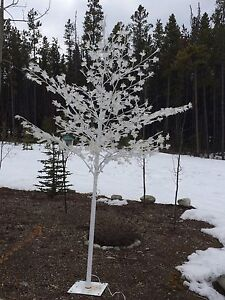L.E.D. Tree with white lights $60.00