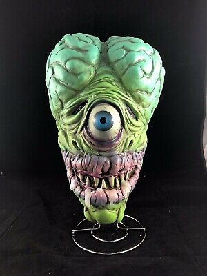 Distortions Unlimited Brainiac The Maniac Latex Halloween Mask MOTM Rat Fink