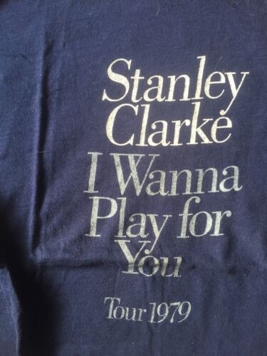 Stanley Clarke 1979 tour T-shirt