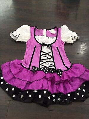 Mini Mouse Costume (Mini Mouse Purple Halloween Dress Costume Teen Size L)
