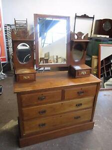 C30002 Lovely Vintage Cedar Duchess Dressing Table Mount Barker Mount Barker Area Preview
