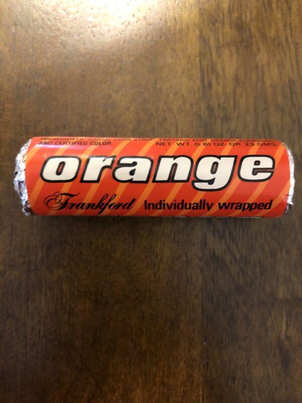Vintage Life Savers Frankford Orange Hard Candy NOS Unopened Roll