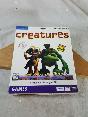 Computer Games - Creatures Special Edition Computer Game Windows PC Softkey 1998 New Sealed