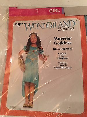 Halloween Costume Girl's Wonderland Warrior Goddess (Wonderland) Medium or - Girl Goddess Halloween Costumes