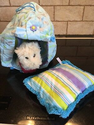 American Girl Coconut Westie Dog -TShirt-Collar-Pillow-Fabric House/Carrier/Redu, used for sale  Lagrange