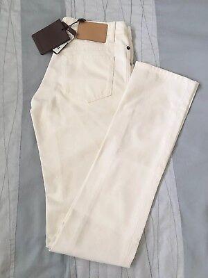 Louis Vuitton NWT Sz34 RTW White Jeans Size 0
