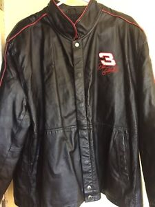 Earnhardt leather jacket