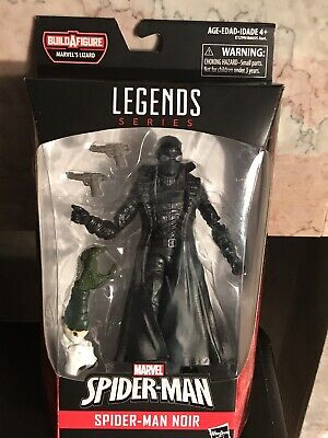 Marvel Legends Series Spider- Man Noir Figure Hasbro Lizard BAF New- E-57