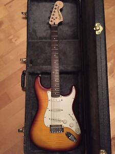 Fender Squire Stratocaster with case