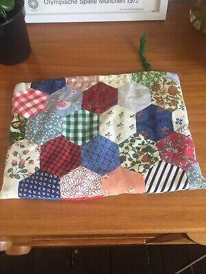 vintage handmade patchwork quilt Pouch Beauty Pencil Case