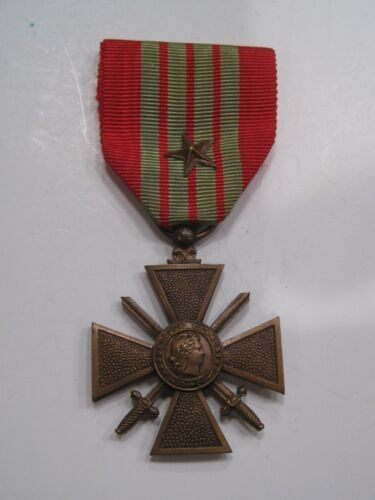 1939 FRENCH Croix de Guerre MEDAL