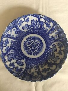 Antique Japanese Blue and White Plate w Mark Wattle Grove Liverpool Area Preview