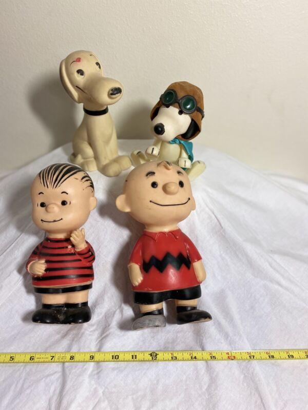 Peanuts Vinyl Characters - Vintage 1958