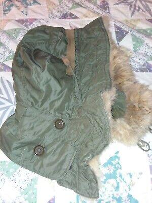 M-51 fur parka/field jacket hood