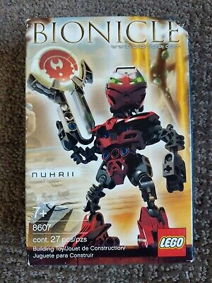 Lego 8607 - Bionicle - Matoran of Metru Nui Nuhrii - 2004  - NEW