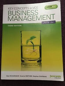 Business Management Textbook Roxburgh Park Hume Area Preview