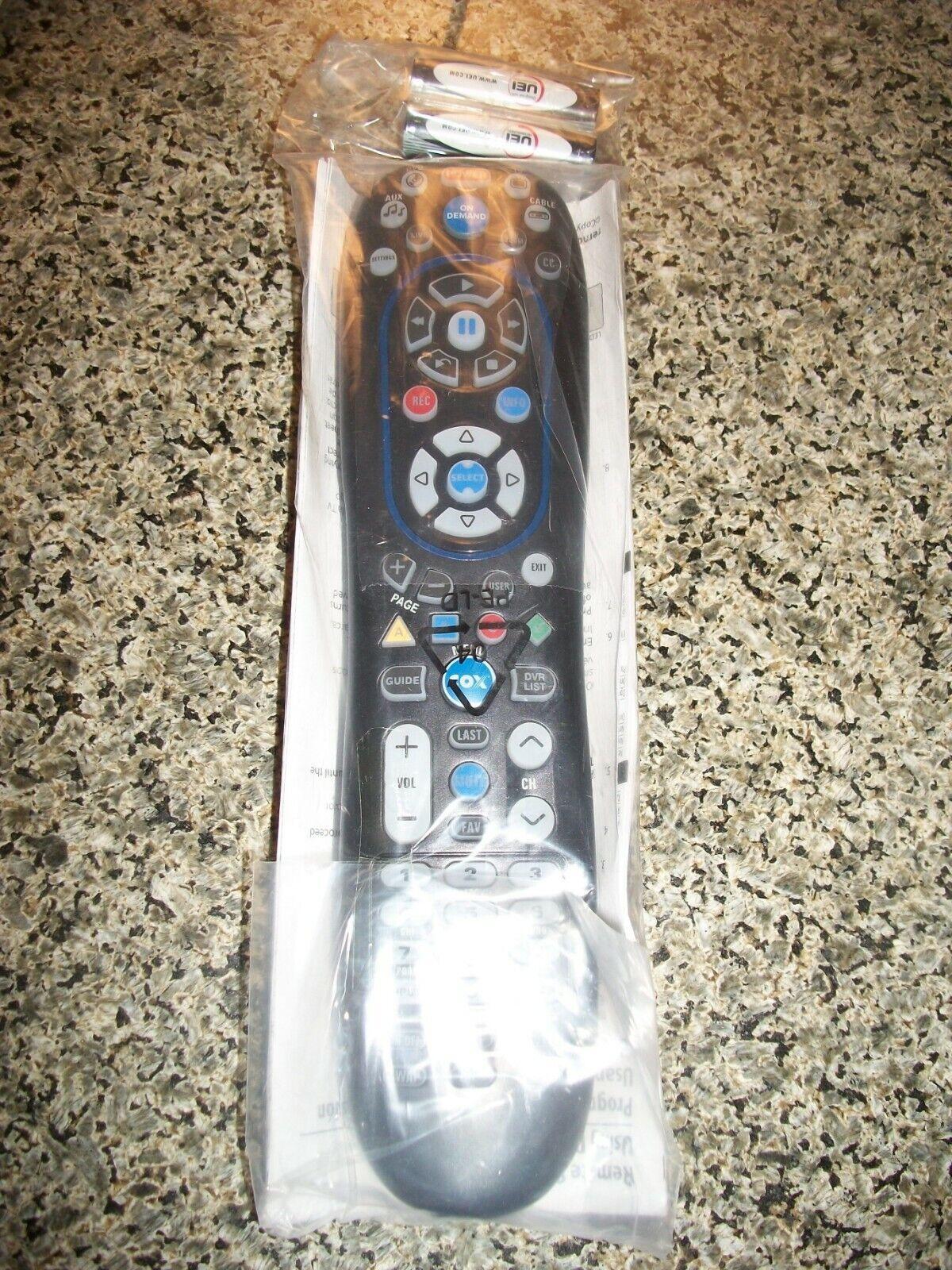 COX CABLE Contour 1 CABLE BOX REMOTE CON