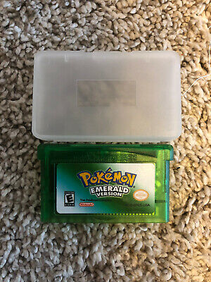 Pokemon Emerald Version Nintendo Gameboy Advance Game