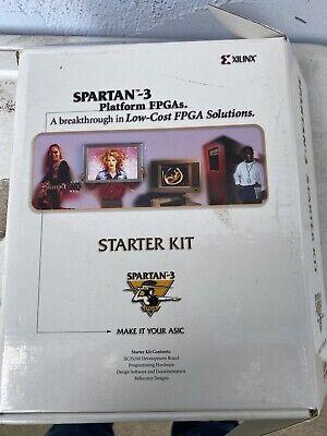 Xilinx Spartan 3 Xc3s200 Fpga Development Board Starter Kit