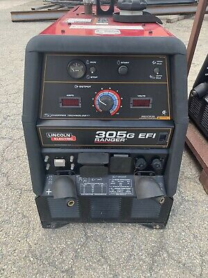 Lincoln Ranger 305 G Efi Kohler Engine Driven Welder Generator K3928-1