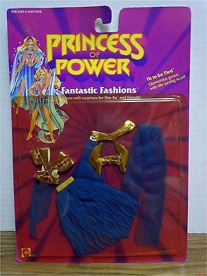 Fit to be Tied Fantastic Fashions Princess of Power She-ra New Shera 1986 MOC