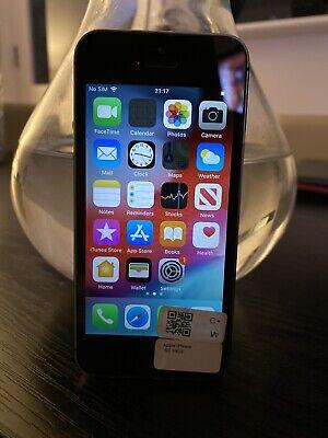 Apple iPhone 5S - 16GB, BLACK Unlocked - 🇬🇧 SELLER / FAST SHIPPING ( Grade B +
