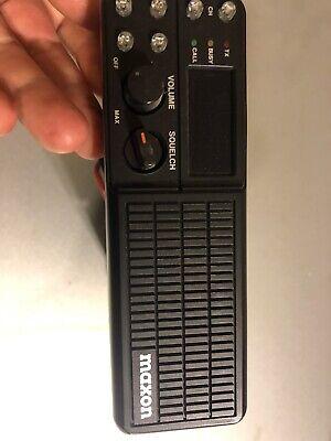 Maxon Sm Programmable Ham 40w 16 Ch Vhf Mobile Radio Wpriority Scan.