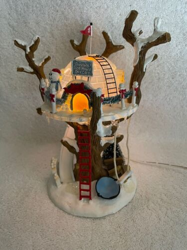 DEPT 56 - North Pole - FROSTBITE TREE HOUSE DAY CARE - MINT - #56844 - No Box