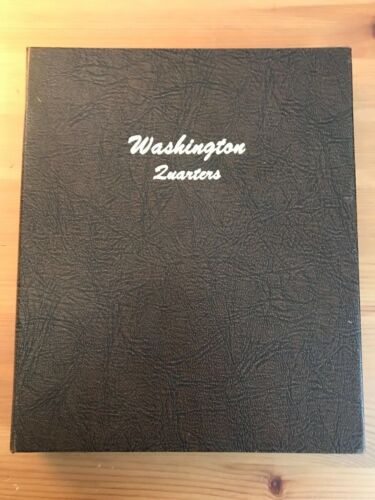 Dansco 1932-77 Washington Head Type Quarters Album - No Coins
