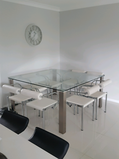 Nick Scali 8 seater dining table (table only)